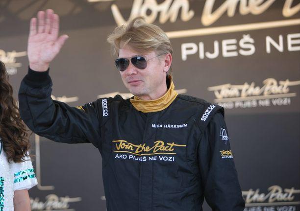 Mika Häkkinen voitti F1-urallaan kaksi maailmanmestaruutta.