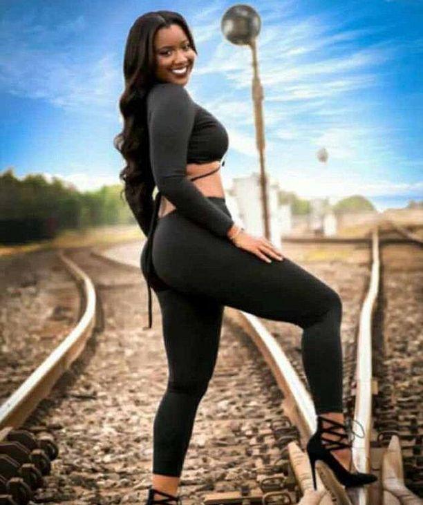 Fredzania Thompson jäi junan alle tätä kuvasarjaa otettaessa.