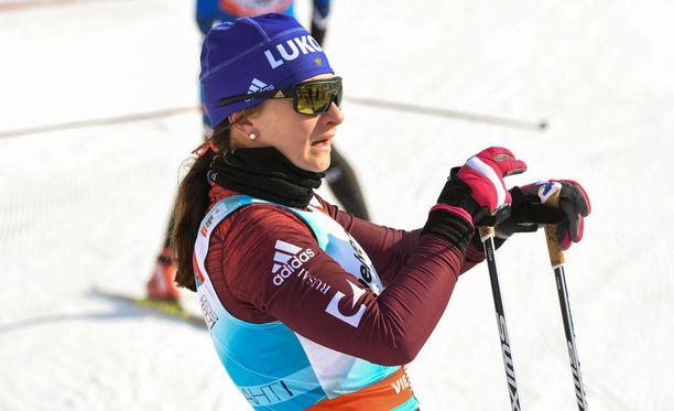 Natalia Neprajeva aiheutti hämminkiä Falunissa.