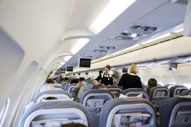 Pelkän lentopaluulipun käyttäminen ei ole mahdollista.