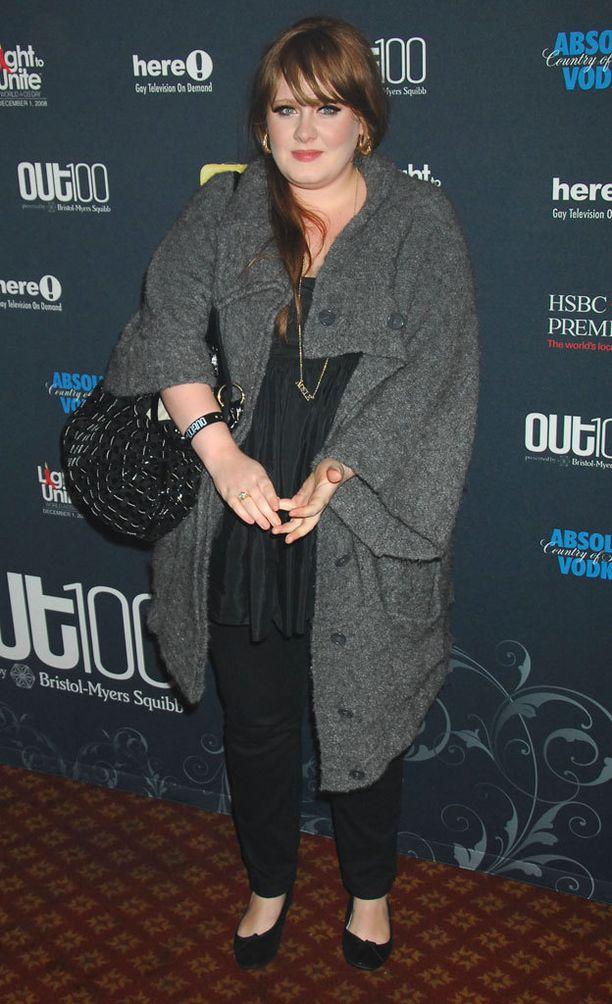 Adele vuonna 2008.