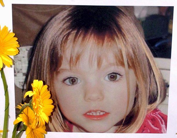 Madeleine McCannin katoamisen jälkeen julkaistu alkuperäinen tuntomerkkikuva.