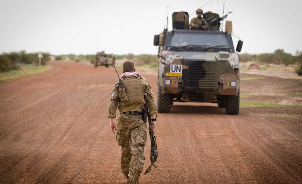 YK-sotilas Malissa.