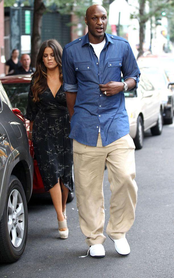 Khloe Kardashian ja Lamar Odom avioituivat vuonna 2009 ja erosivat hiljattain.