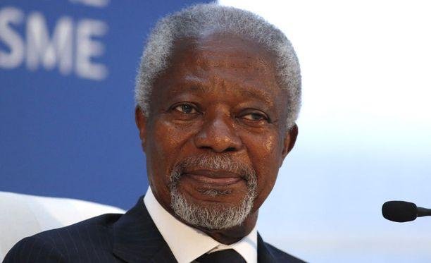 YK:n ex-pääsihteeri Kofi Annan on HJK:n Anthony Annanin isän serkku.