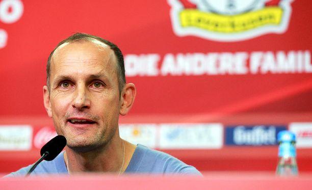 Heiko Herrlich on Bayer Leverkusenin uusi päävalmentaja
