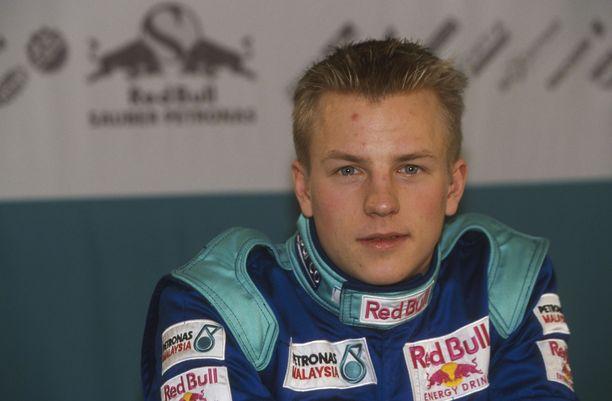 Kimi Räikkönen debytoi formula ykkösissä Sauberin ratissa 2001.