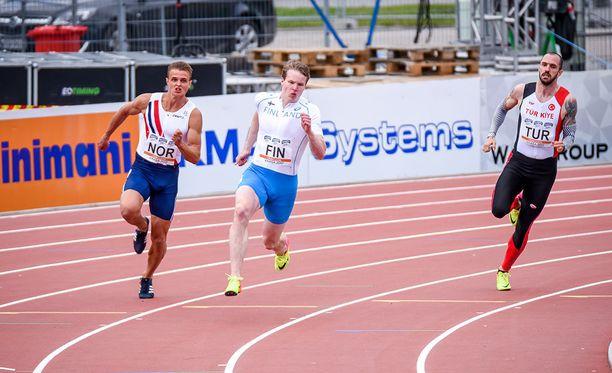 Samuel Purola sanoo 200 metrin olevan lähempänä sydäntä kuin satasen.