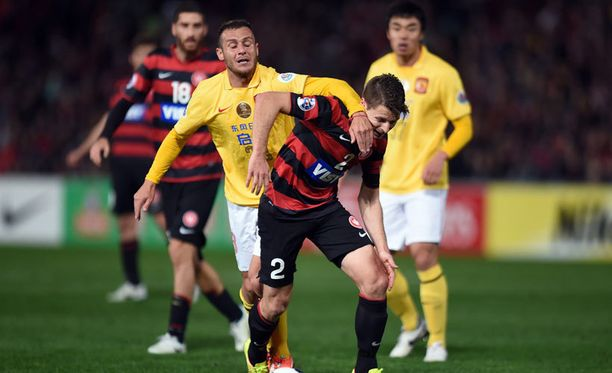 Sydney voitti ottelussa Guangzhoun 1-0.