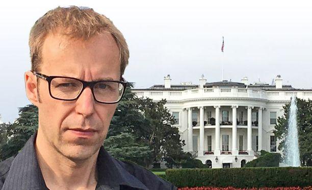 Uuden Trumpin jälkeen? -kirjan kirjoittaja, toimittaja ja Washingtonin kirjeenvaihtaja Markus Tiittula.