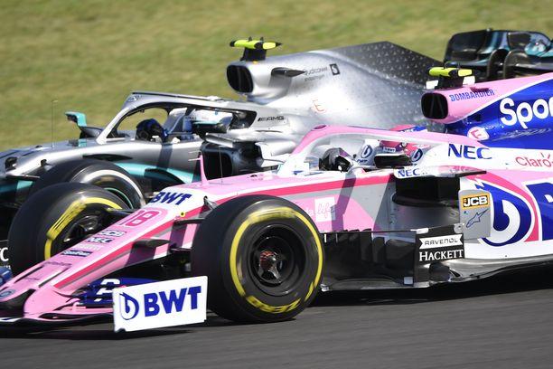 Racing Point on samassa kelkassa Mercedeksen kanssa.