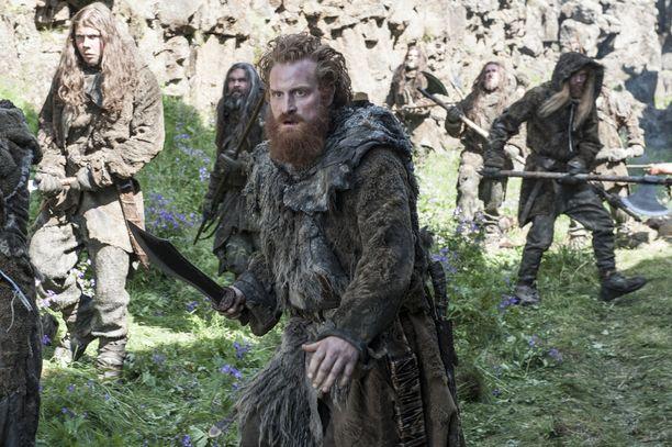 Game of Thrones on ollut antoisa kokemus koko Tormundia näyttelevän Kristofer Hivjun perheelle.