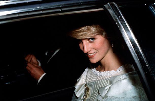 Walesin prinsessa Diana vuonna 1983. Prinsessa kuoli elokuussa 1997.