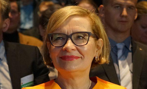 Paula Risikko on valmis ministeriksi.