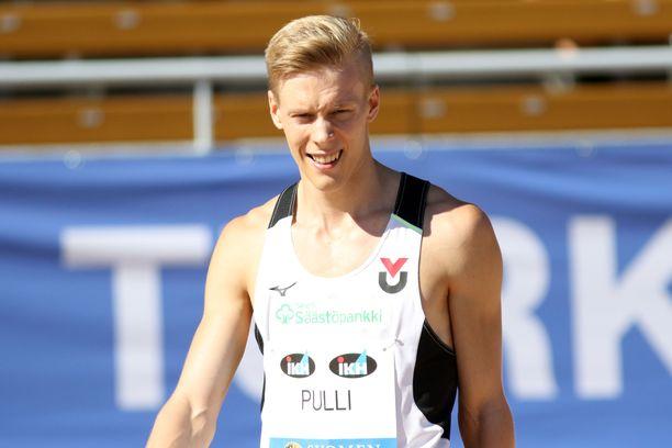 Kristian Pulli sijoittui kolmanneksi Tukholmassa.