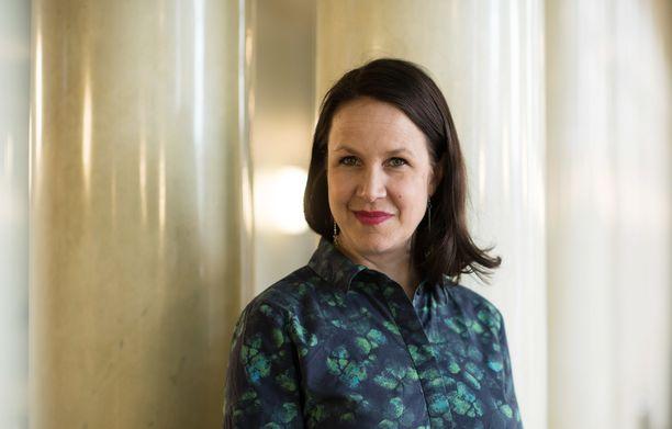Veronika Honkasalo (vas) valittiin eduskuntaan vuoden 2019 vaaleissa. Arkistokuva samalta vuodelta.