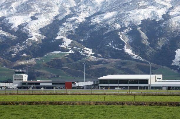 Dunedinin lentokenttä arkistokuvassa.