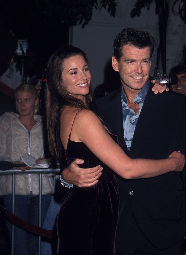 Tältä kaksikko näytti vuonna 1999. Rakkaus on kestänyt.