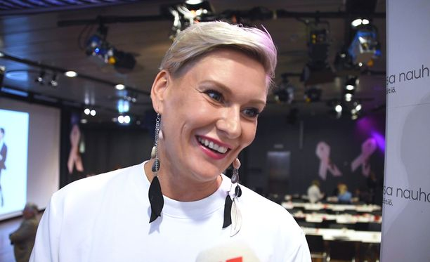 Heidi Sohlberg on tunnettu juontaja.