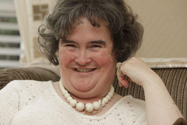 Susan Boyle hämmästytti lauluäänellään Britannian Talent-ohjelmassa.