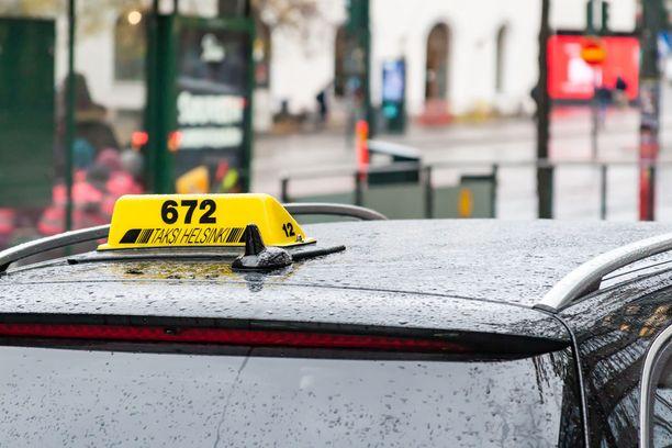 Kuvan taksi ei liity tapaukseen.