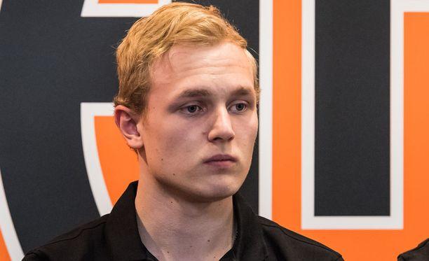 Kristian Vesalaisen esikuva on Jevgeni Malkin.
