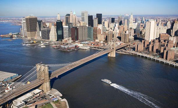 Esimerkiksi New Yorkiin pääsee nyt varsin kohtuulliseen hintaan.