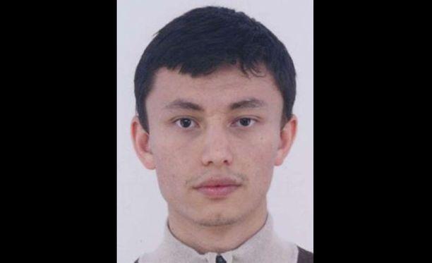 Turun puukotuksista on etsintäkuulutettu 23-vuotias Zuhriddin Rashidov.