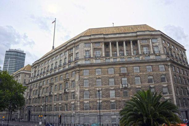 MI5:n päämaja Lontoossa.