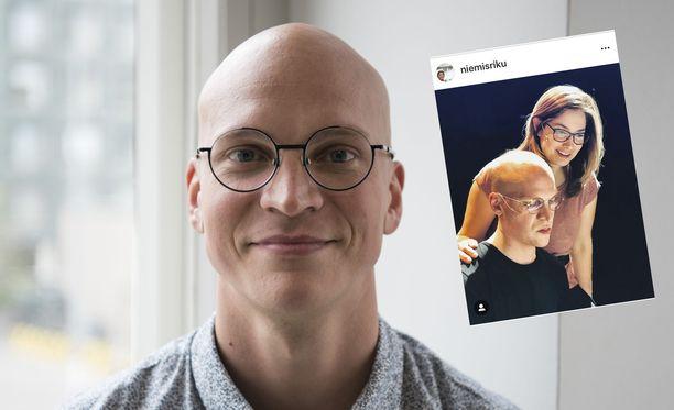 Riku Nieminen ja mainoksesta tuttu Trivago-nainen ovat olleet naimisissa jo 14 vuotta.