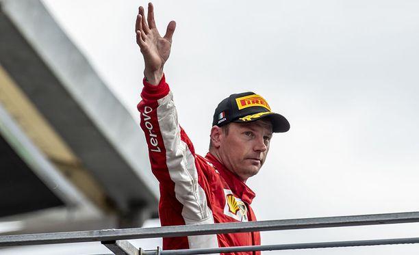 Kimi Räikkösellä oli Monzassa erinomainen sauma voittaa.