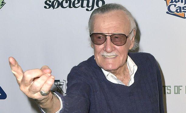 Stan Lee on luonut mm. Hämähäkkimiehen.