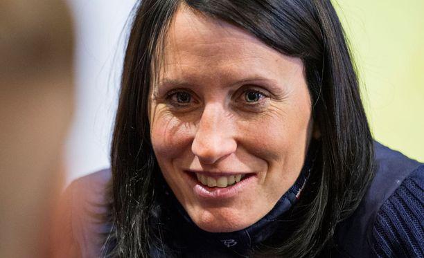 Marit Björgen leireilee tällä hetkellä viimeistä kertaa Norjan maajoukkueen mukana ennen äitiyslomaansa.