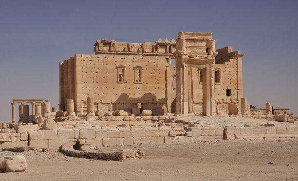 Isis räjäytti Baalin temppelin Syyriassa.