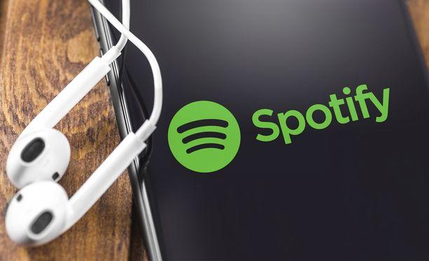Spotify ei pysty toistamaan musiikkia.