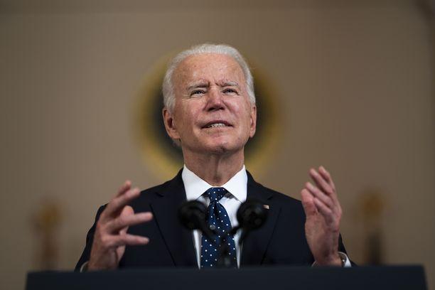 Joe Biden haluaa Yhdysvalloista globaalin ilmastotyön johtajan.