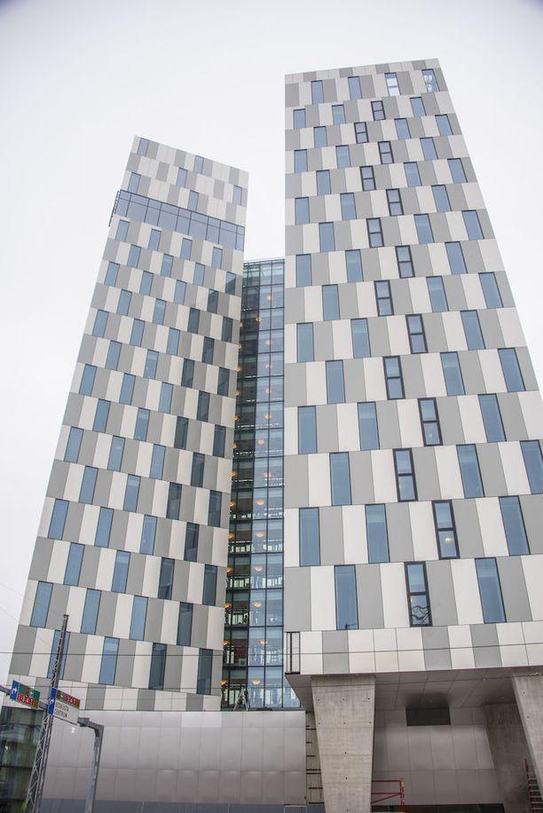 Helsingin Ruoholahden Clarion-hotelli