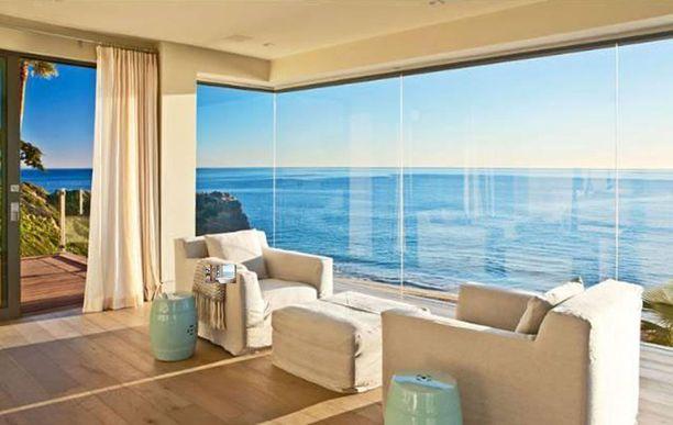 Beckhameiden Malibun-asunnosta on upea näkymä merelle.