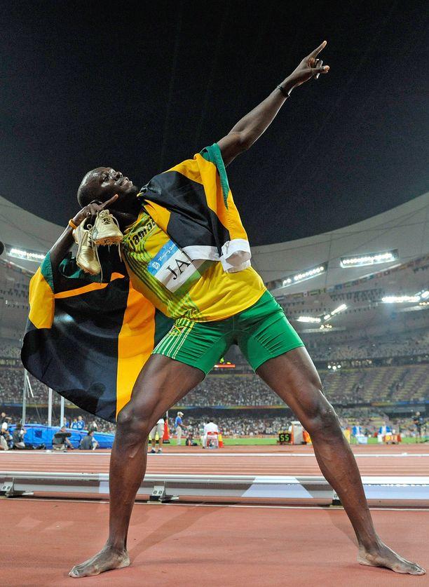Usain Boltin rentous tiukimmissa paikoissa teki vaikutuksen Saga Anderssoniin.