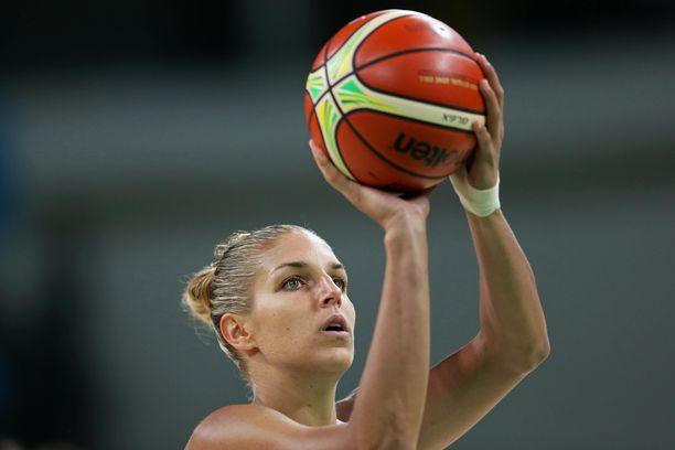 Elena Delle Donne voitti olympiakultaa Riossa 2016.