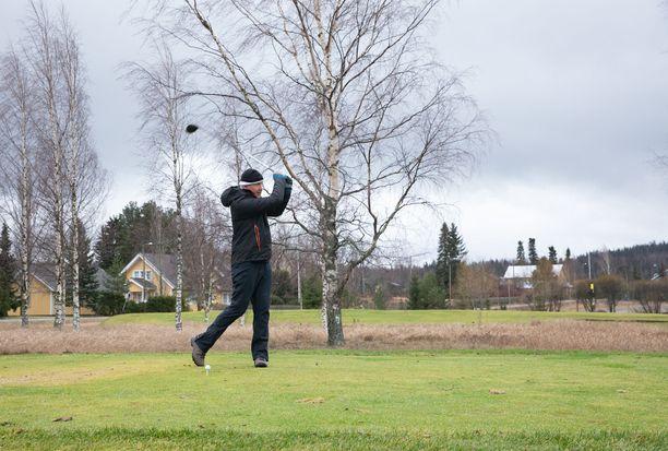 Golfista saattaa hyvinkin tulla talvilaji eteläisessä Suomessa, missä pitää ehkä totutella entistä leudompiin talviin.