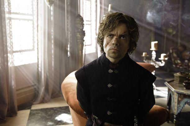 Tyrion Lannister (Peter Dinklage) Game of Thronesin kolmannella tuotantokaudella.