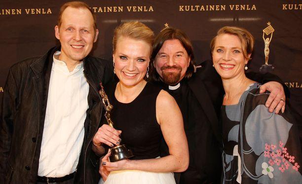 Ensitreffit alttarilla voitti Venla-gaalassa parhaan reality-sarjan palkinnon.