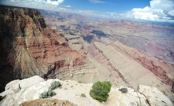 Grand Canyon on suosittu matkakohde Arizonassa Yhdysvalloissa.