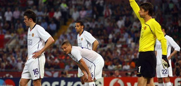Manchester United oli vaisu ja aseeton Rooman illassa.