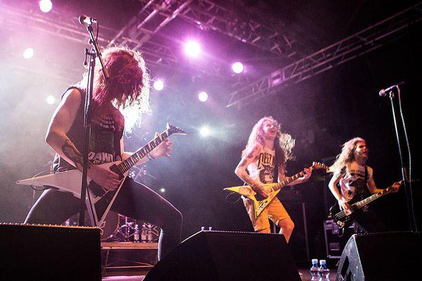 Yhtyeellä on Suomen lisäksi kansainvälisiä suunnitelmia. Edellisen kerran he soittivat Japanissa 2013 ja tänä keväänä Aasian kuvioihin selvinnee jatkoa.