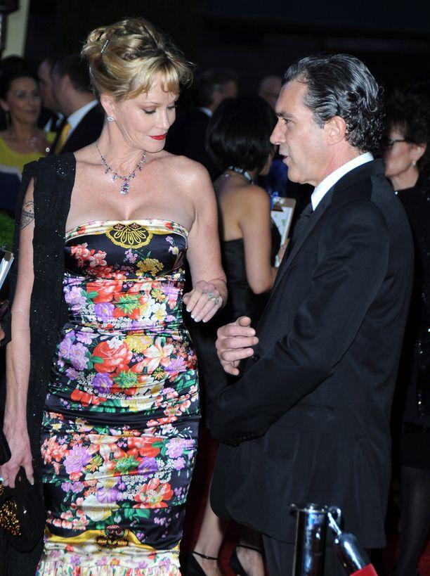 Griffith ja Banderas ovat olleet naimisissa 18 vuotta. Kuva vuodelta 2012.