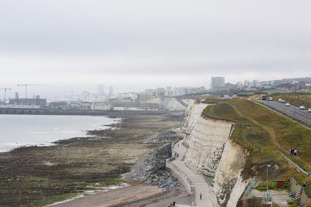 Nick Caven pojan kuolinpaikka on Ovingdean kallio Brightonissa.