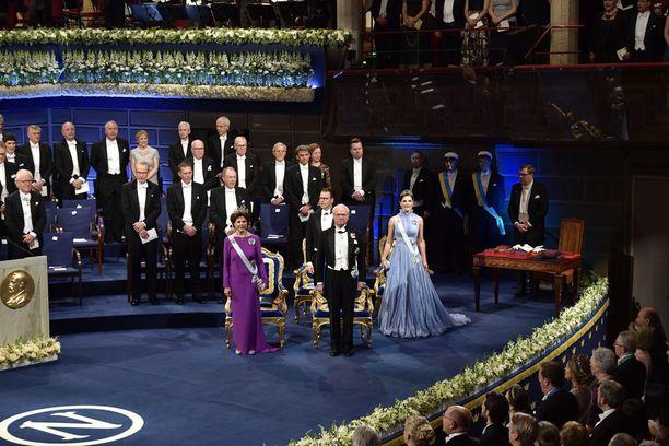 Kuninkaalliset ovat vuosittain gaalan kunniavieraita.
