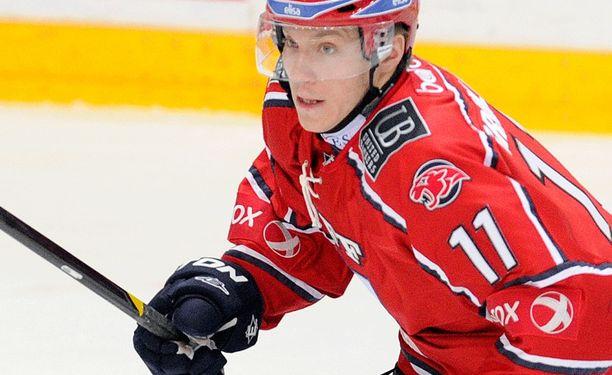 Markus Granlund kiekkoili viime kaudella HIFK:ssa.